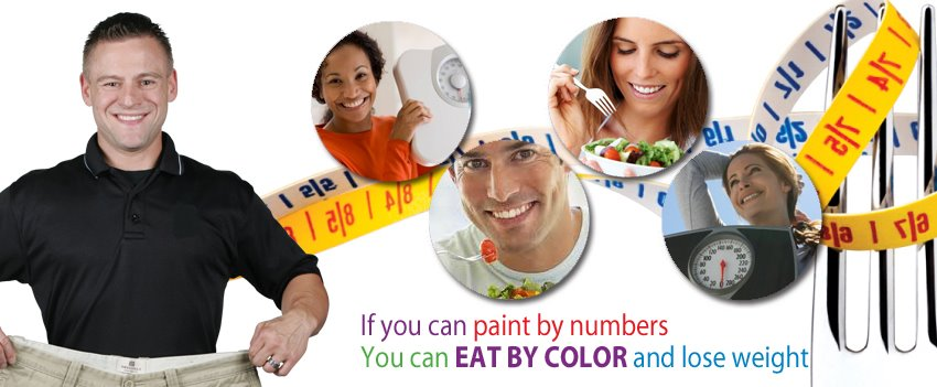 Eat By Color Logo